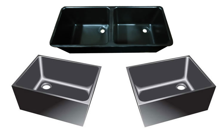 epoxy resin sinks undermount sinks ideas. Black Bedroom Furniture Sets. Home Design Ideas