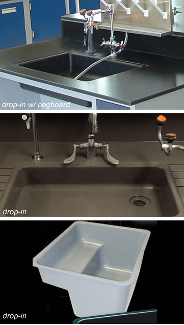 Epoxy Drop In Sinks Laboratory Schools Hospitals Trespa